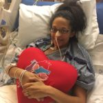 This Mommy's Heart - My PPCM Story - Heart pillow