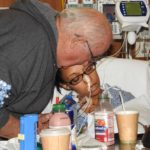 This Mommy's Heart - My PPCM Story - My dad checking on me