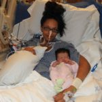 This Mommy's Heart - My PPCM Story - Sleeping baby