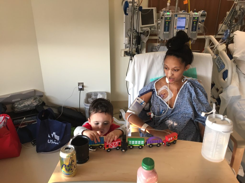 This Mommy's Heart - My PPCM Story - Train