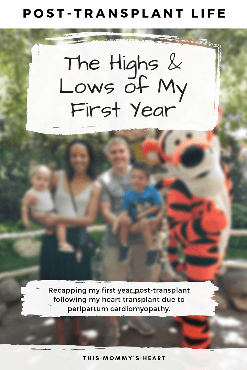 Post-Transplant Life – The Highs & Lows of My First Year